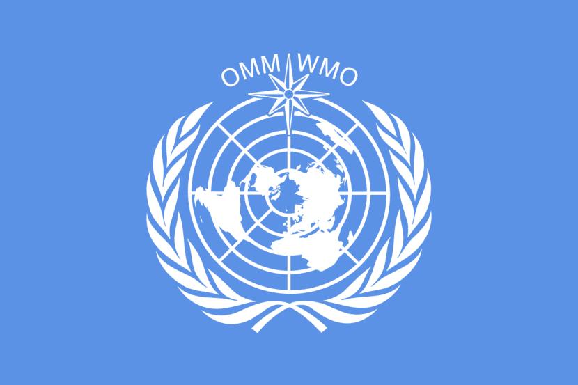 Bandera de la Organización Meteorológica Mundial