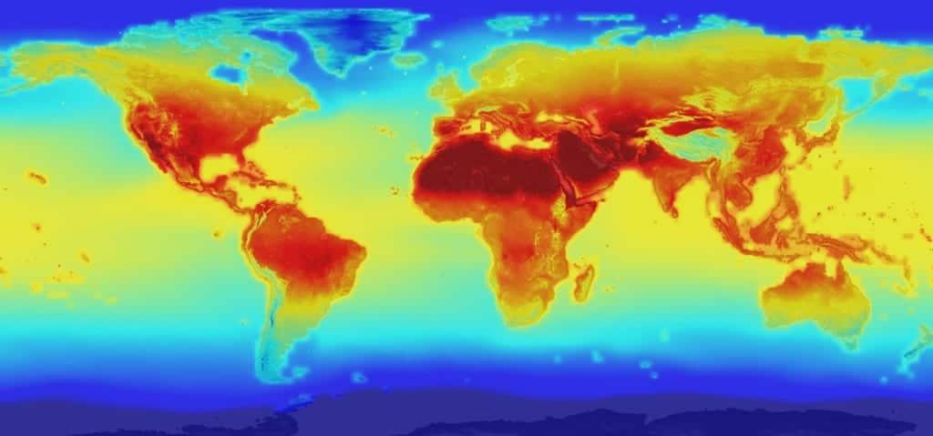 Mapa NASA