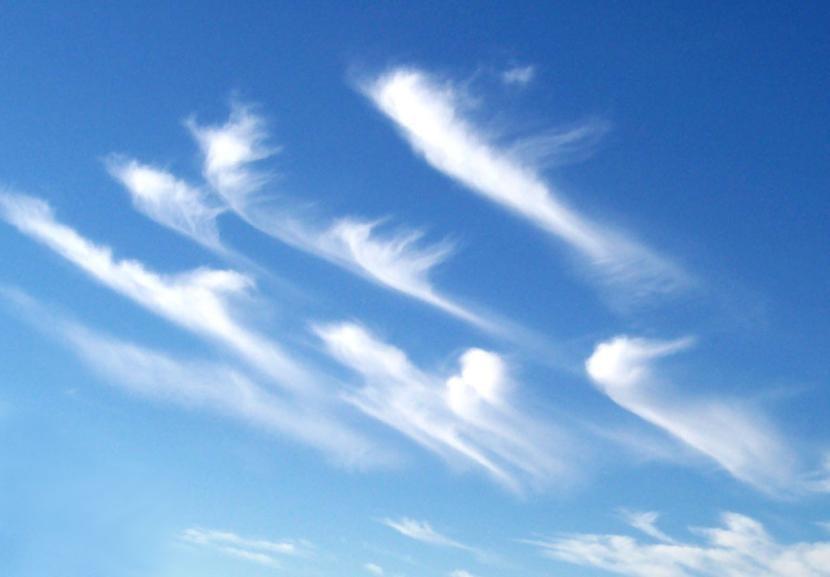 Nubes cirrus