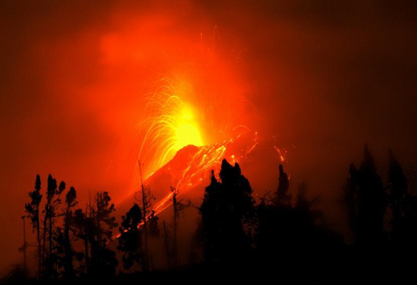 Volcán Tungurahua en el 2011