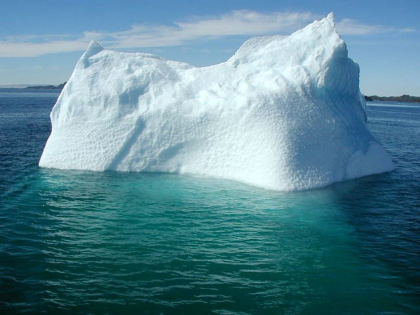 calentamiento global iceberg