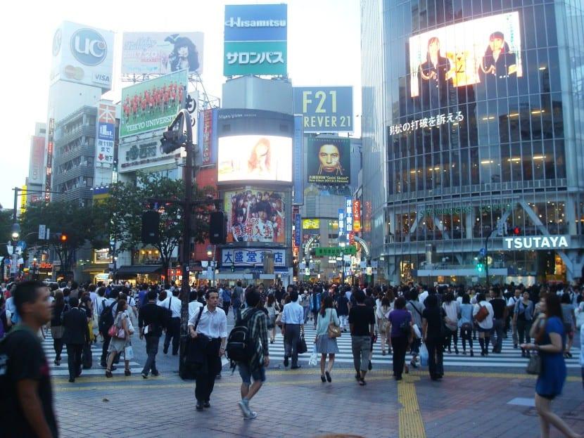 ola de calor en todo Japón