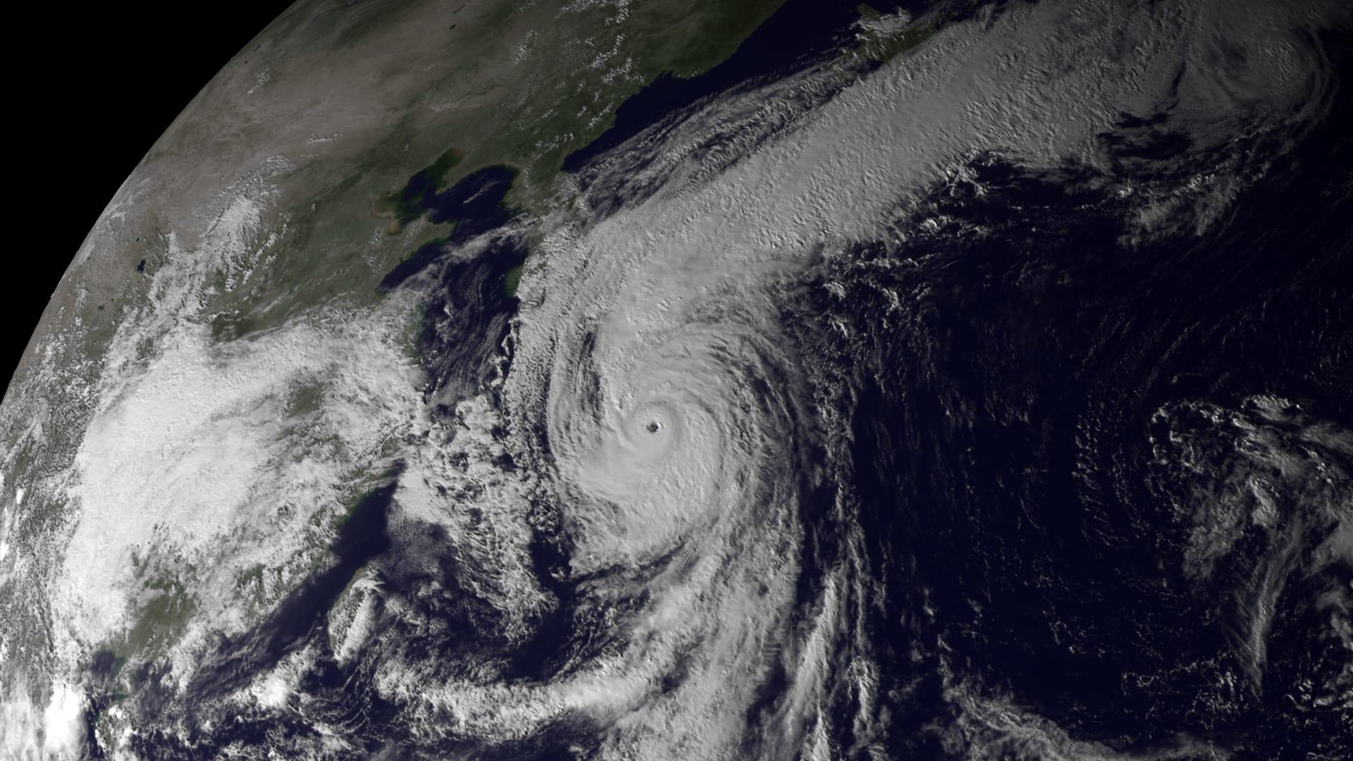 imágenes del satélite japonés