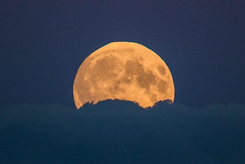 Superluna en Alemania