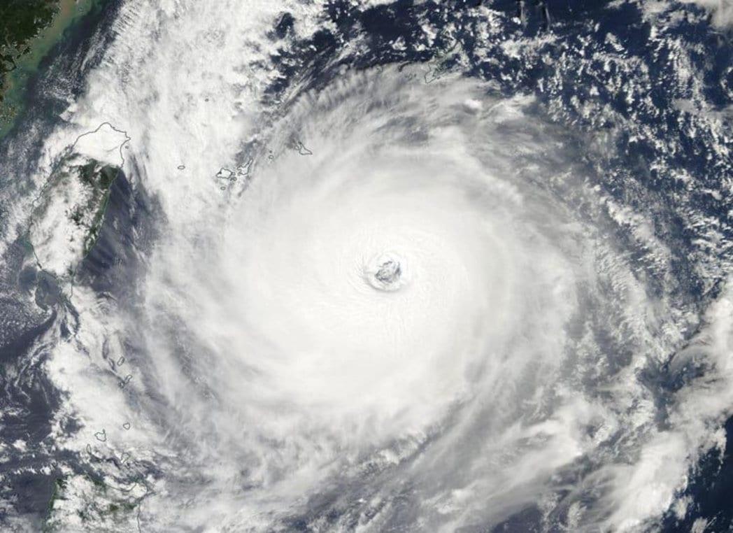 tifón dujuan taiwán