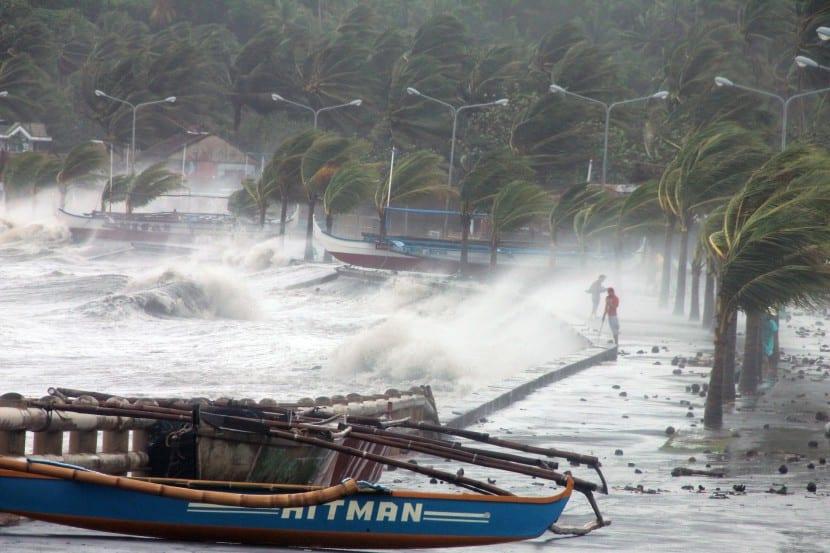 tifón filipinas
