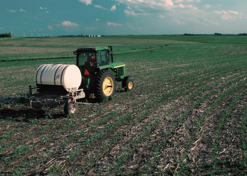Fertilizando el campo