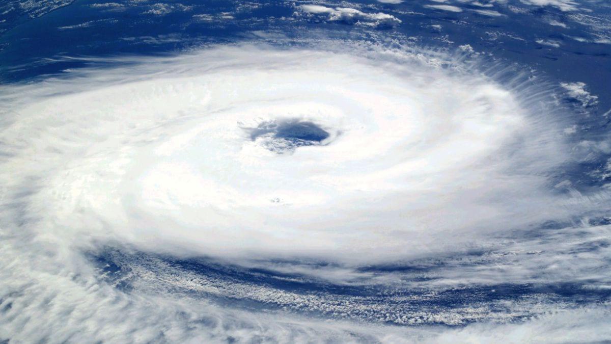 formación de un tifón