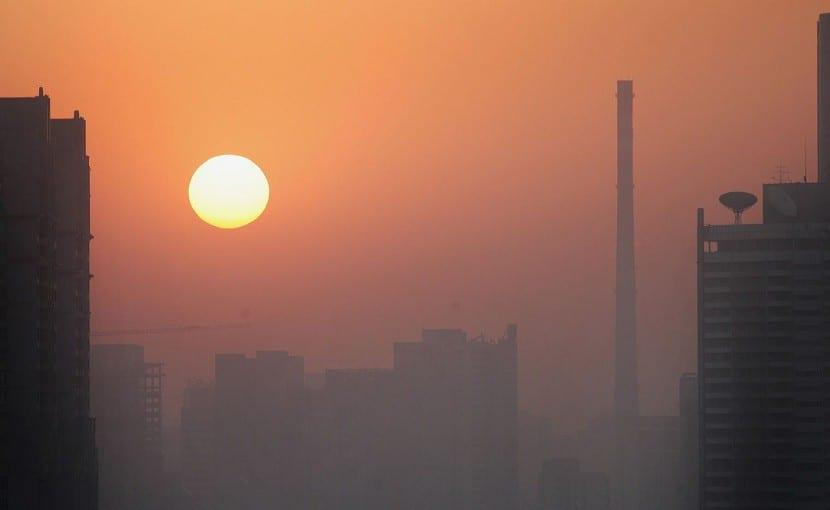La contaminación es una de las causas del calentamiento global