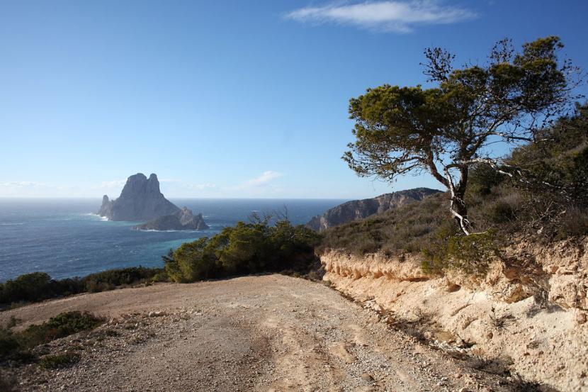 Cala Llentrisca (Ibiza, Baleares)