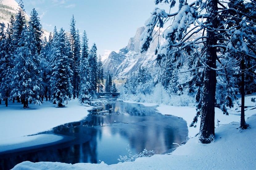 estación invierno