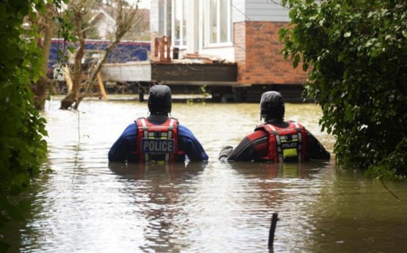 Inundaciones en el Reino Unido