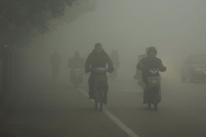 Polución China