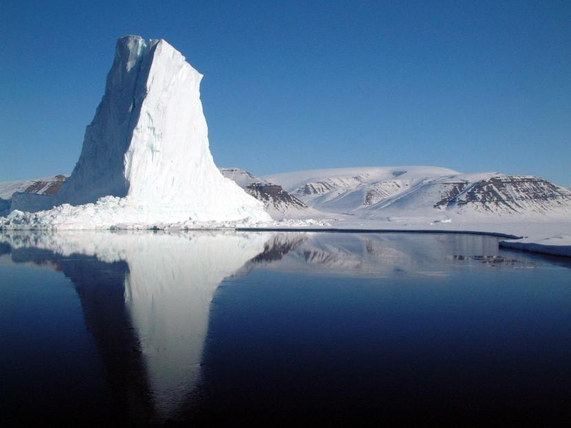 Iceberg en Baffin Bay