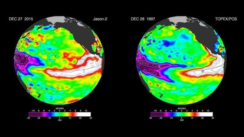 Fenómeno de El Niño en la climatología