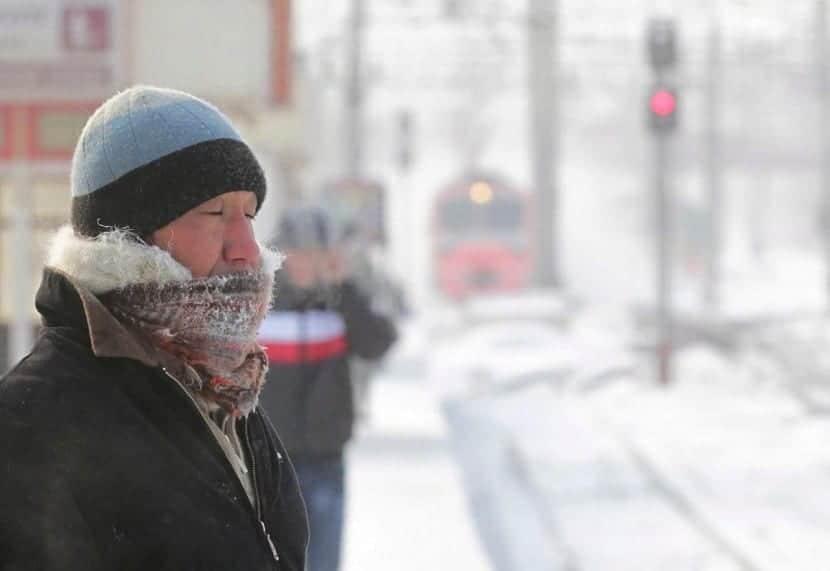 frío en Hungría