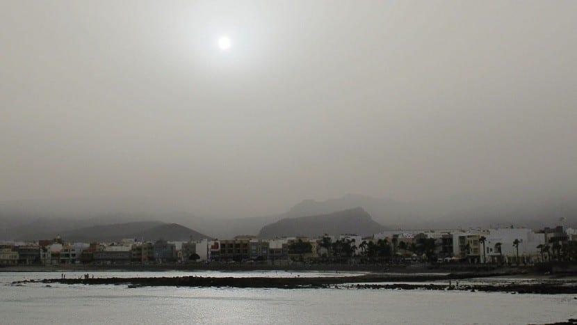 nube polvo africano
