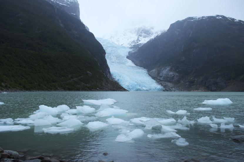 Glaciar en Patagonia