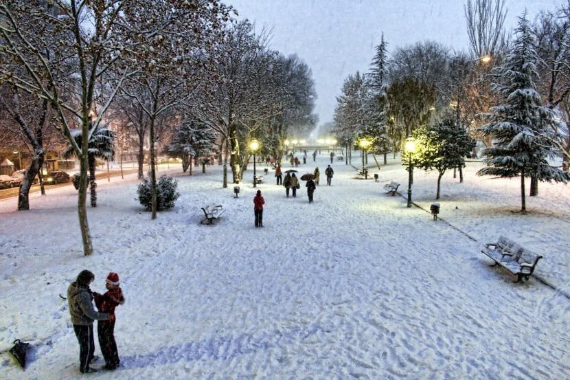 Paseo de las nieves