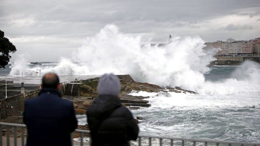 temporal viento