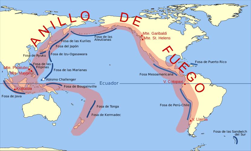 Anillo de fuego del Pacífico