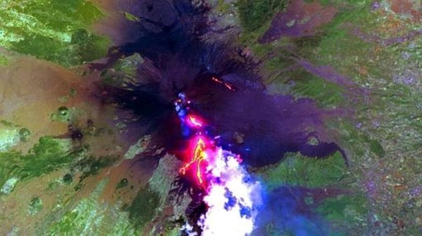 Erupción del Monte Etna