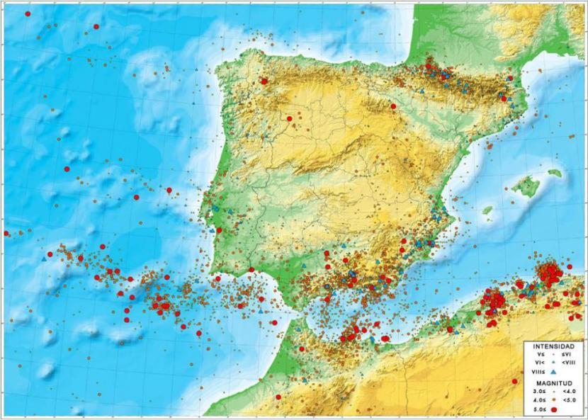 Teremotos España