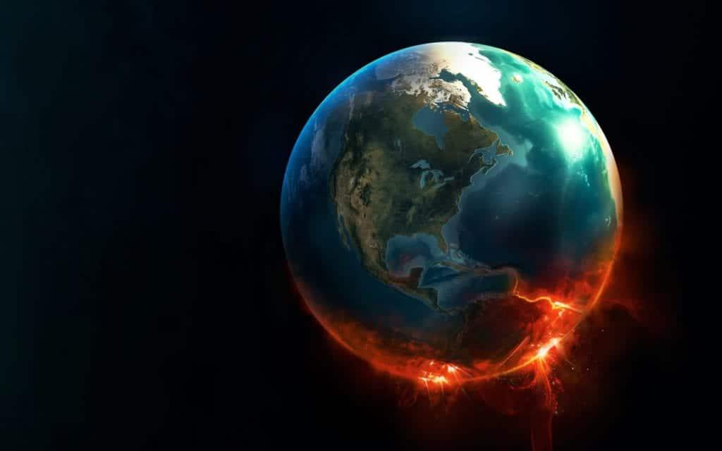 Calentamiento global en el Planeta Tierra