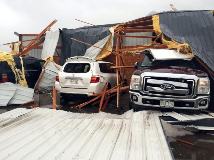 Desastres por tornado