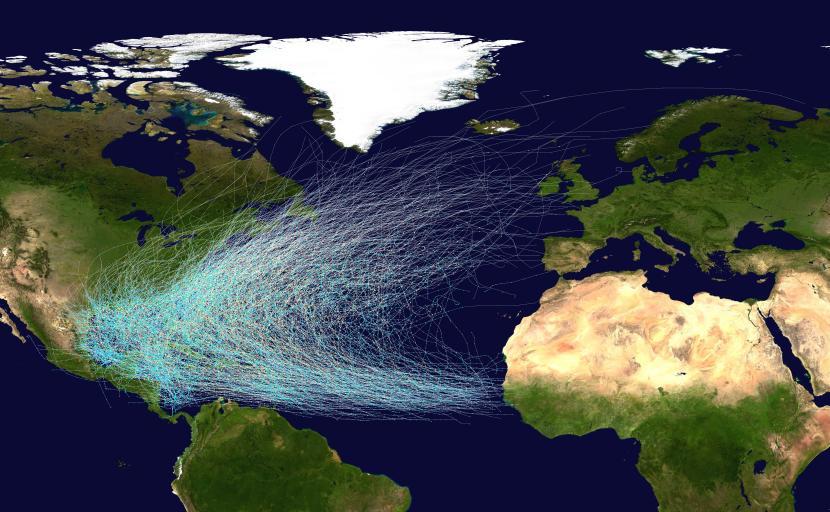 Huracanes en el Atlántico