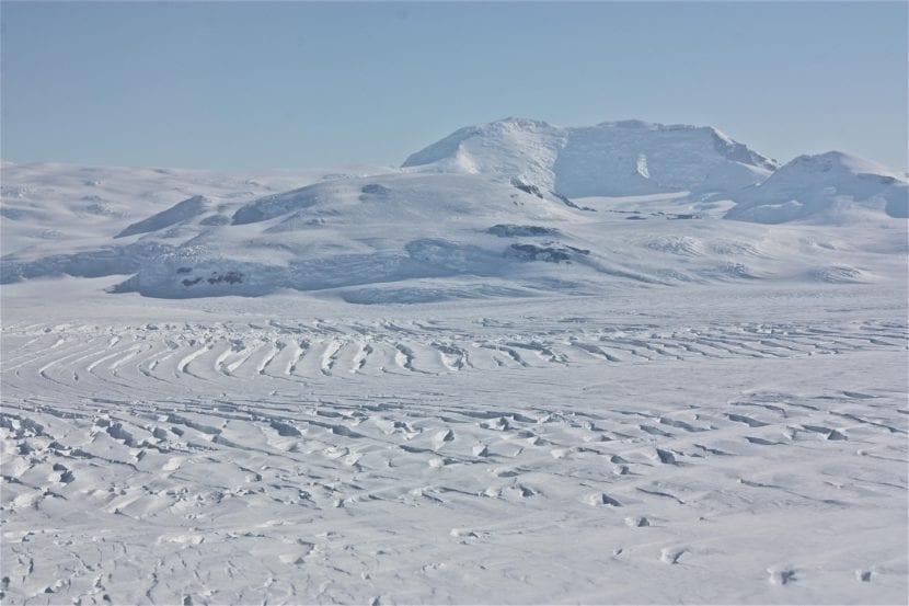 Monte Murphy, en la Antártida