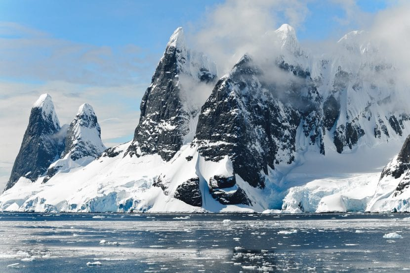 Clima polar en el ártico