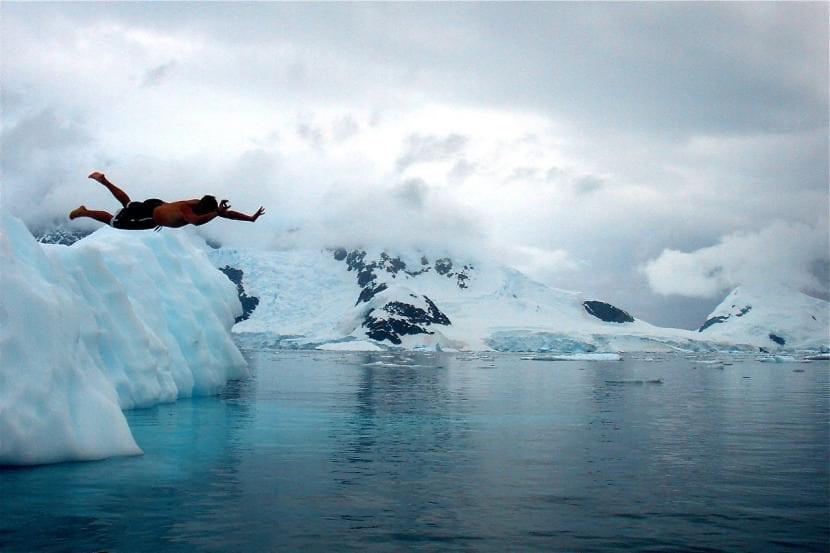 Buceando en la Antártida