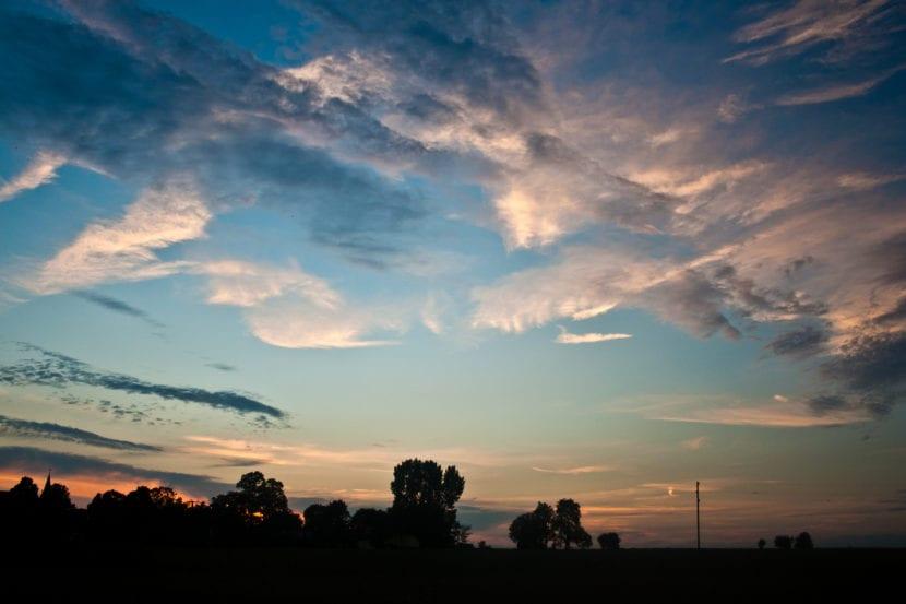 Cielo en verano