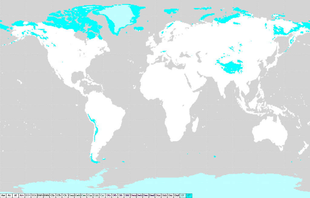 Zonas de Clima polar