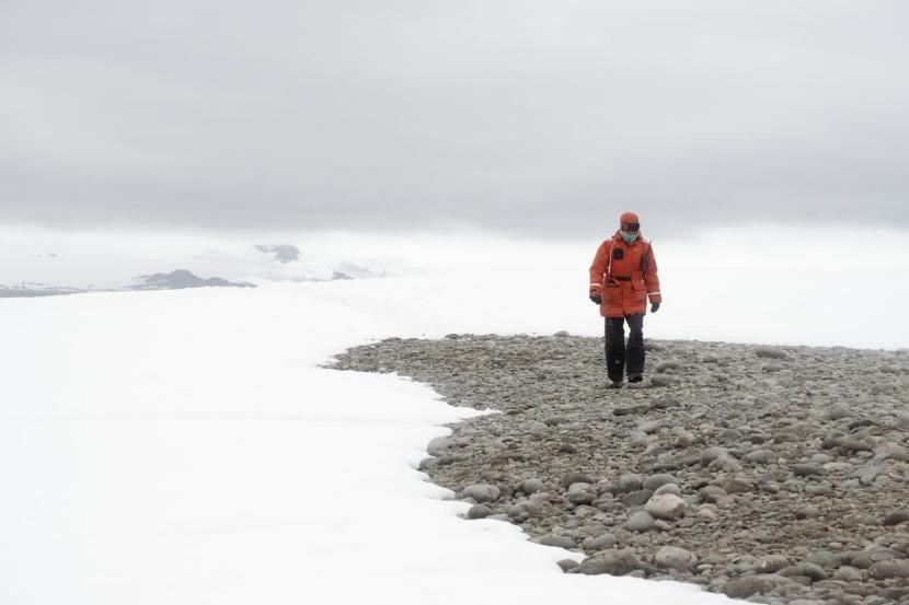 Caminando por la Antártida