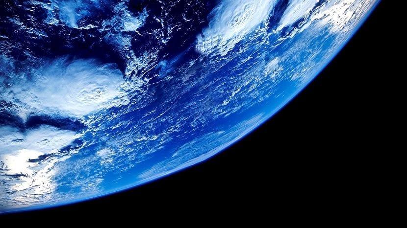 El planeta Tierra desde el espacio