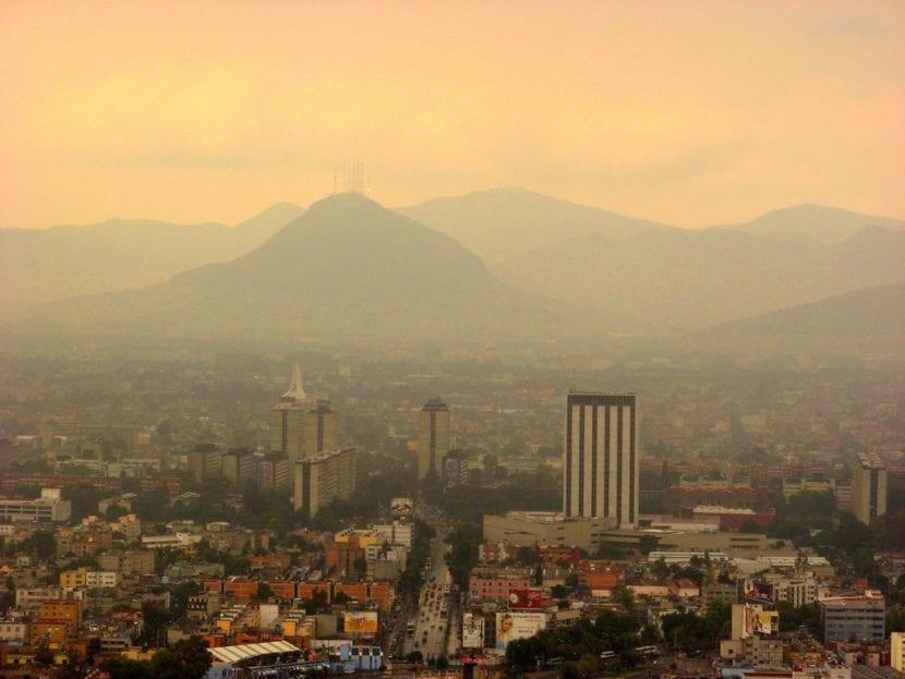 Smog en México
