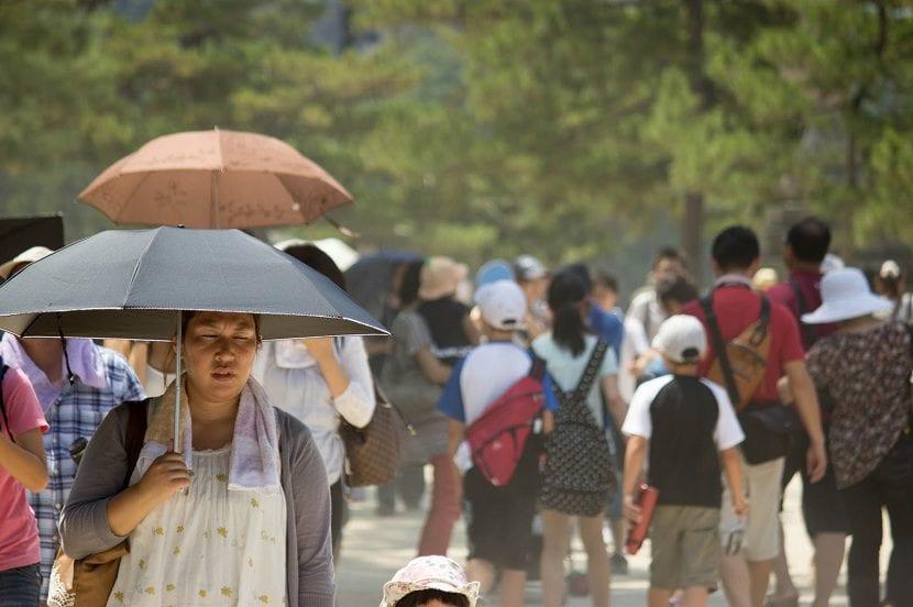 calor japón
