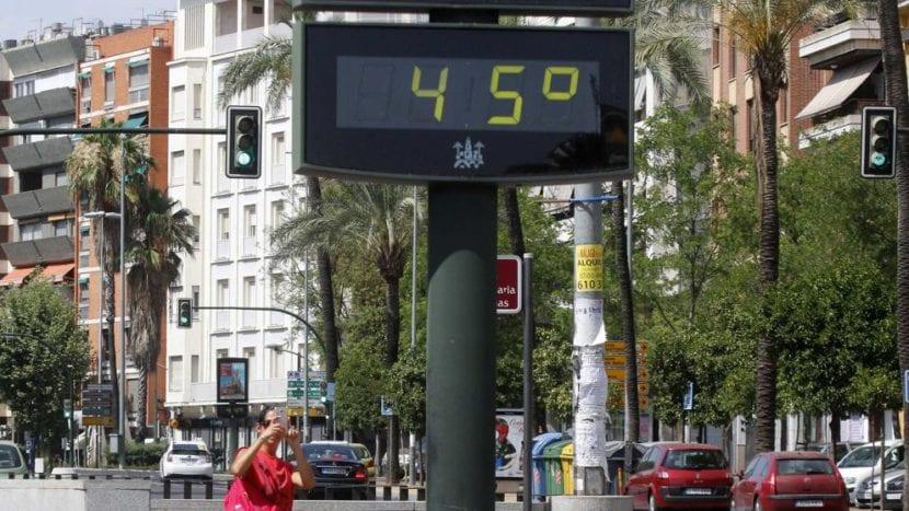 Calor en Esoaña