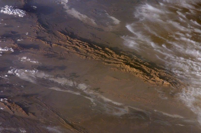 Desierto de Lut en Irán
