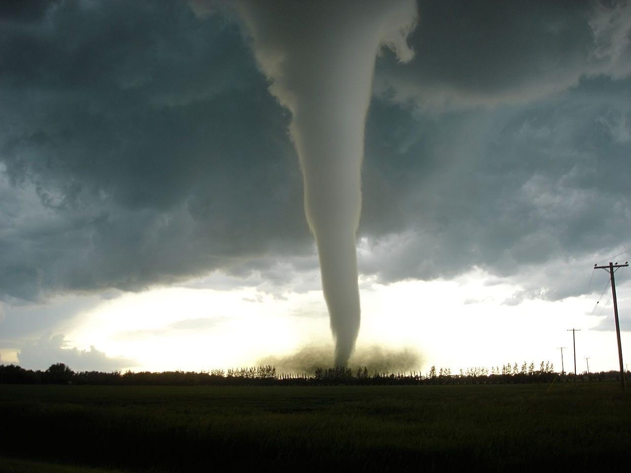Tornado F5 en tierra