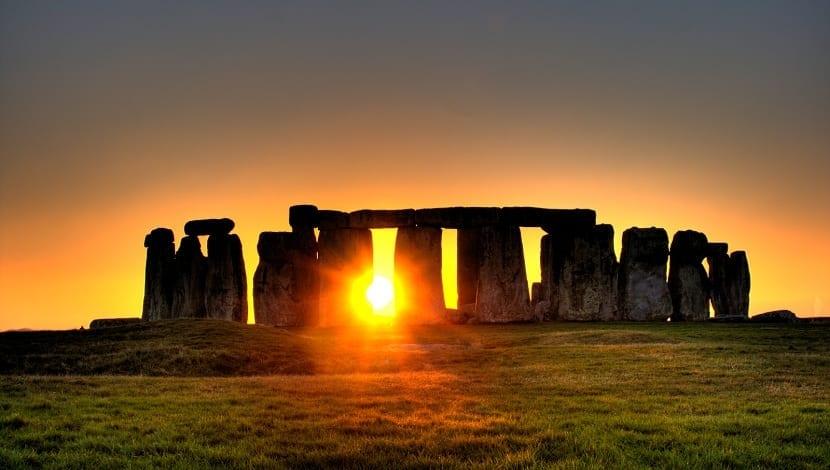 Stonehenge solsticio de invierno