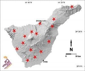 Estaciones de vigilancia en Tenerife