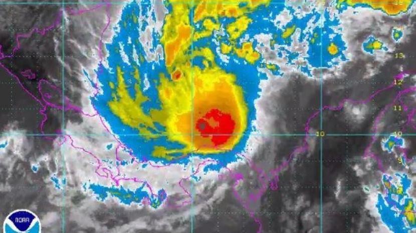 Imagen - NOAA, del 22 de noviembre del 2016.