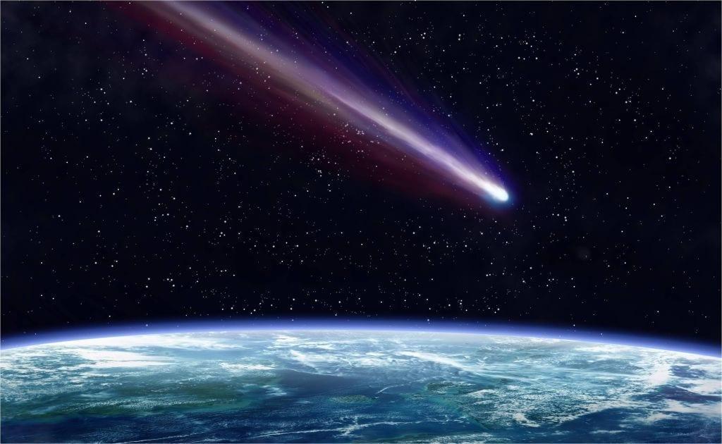 Mesosfera detiene meteoritos