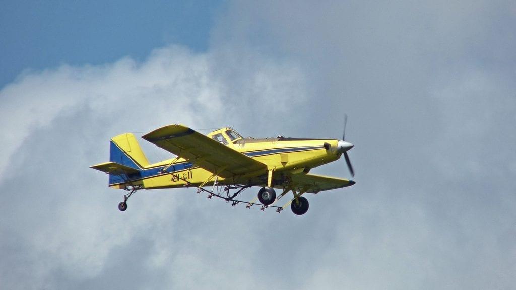 Este tipo de avionetas se usan para fumigar y acabar así con las plagas de insectos.
