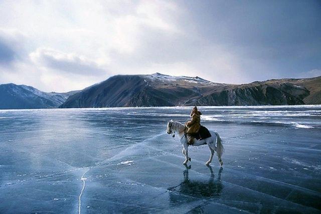 Hielo lago Baikal