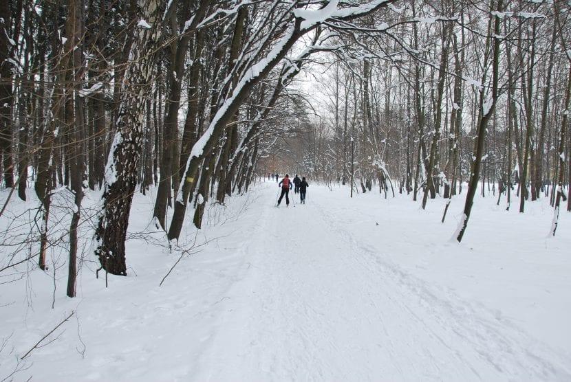 personas-esquiando