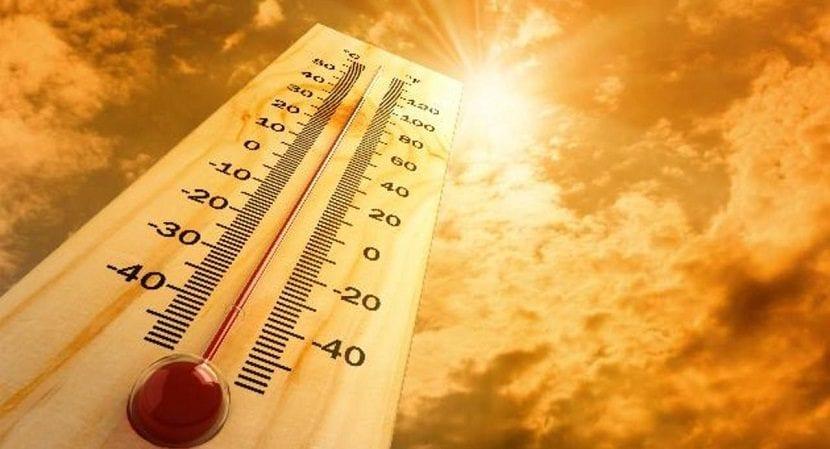Aumento de las temperaturas por el cambio climático